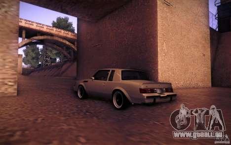 Buick Regal GNX pour GTA San Andreas laissé vue