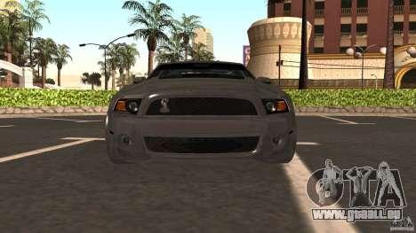 Shelby Mustang 1000 pour GTA San Andreas vue de droite