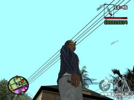 G: pour GTA San Andreas deuxième écran