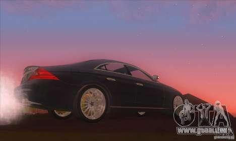 Mercedes-Benz CLS AMG pour GTA San Andreas laissé vue