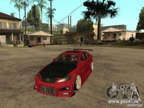 Lexus Drift Car pour GTA San Andreas