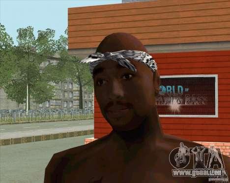2Pac für GTA San Andreas zweiten Screenshot