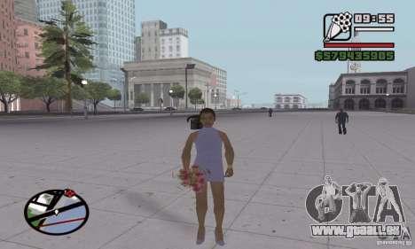 Réincarnation dans un habitant de la ville pour GTA San Andreas cinquième écran