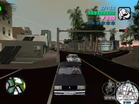 VAZ 2105 pour une vue GTA Vice City de la gauche