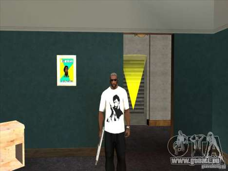 T-shirt Chuck Norris pour GTA San Andreas