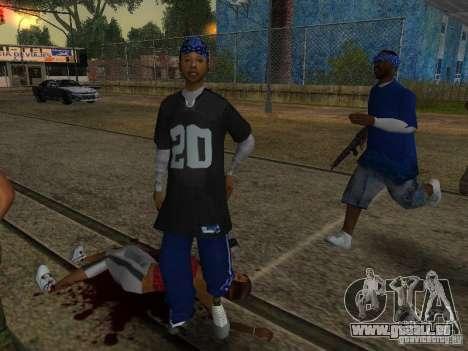 Crips pour GTA San Andreas