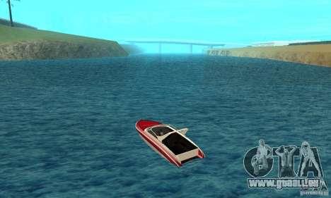 GTAIV Tropic pour GTA San Andreas sur la vue arrière gauche