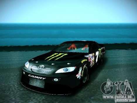 Toyota Camry Nascar Monster Energi Nr.7 pour GTA San Andreas