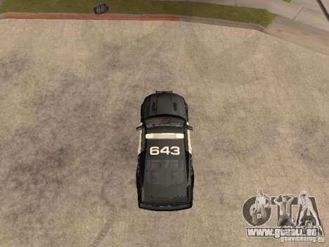 Saleen S281 2007 Barricade für GTA San Andreas rechten Ansicht