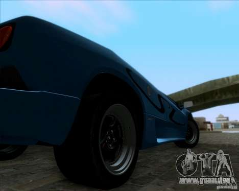 Lamborghini Diablo SV V1.0 für GTA San Andreas zurück linke Ansicht