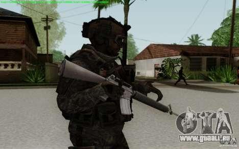 M16A2 pour GTA San Andreas troisième écran