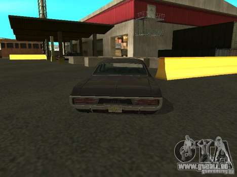 Dodge Polara 1971 für GTA San Andreas zurück linke Ansicht