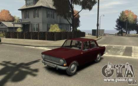 AZLK 412 Moskvich pour GTA 4