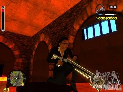Next weapon pack pour GTA San Andreas deuxième écran