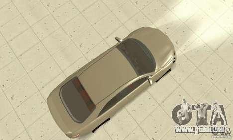 Toyota Camry Tuning 2010 pour GTA San Andreas vue de droite