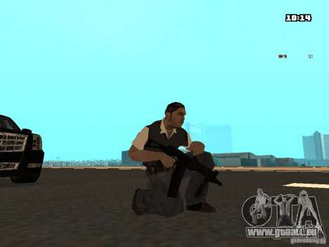 No Chrome Gun pour GTA San Andreas cinquième écran