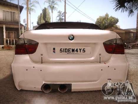 BMW 320SI Drift für GTA San Andreas rechten Ansicht