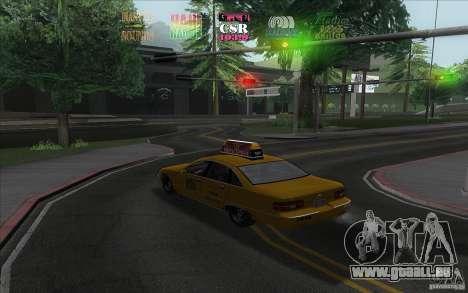 Radio Hud IV pour GTA San Andreas deuxième écran