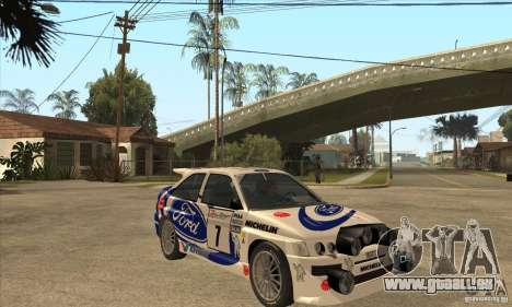 Ford Escort RS Cosworth pour GTA San Andreas salon