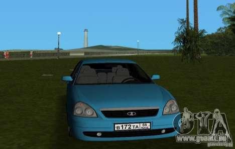 Lada Priora berline avec hayon arrière v2.0 pour GTA Vice City vue arrière