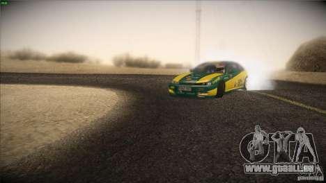 Nissan S14 für GTA San Andreas Rückansicht