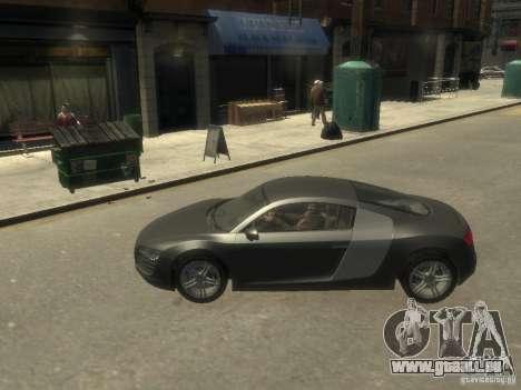 Audi R8 NFS Shift pour GTA 4 est une gauche