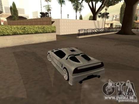 Infernus GT pour GTA San Andreas vue de droite