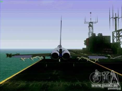 Eurofighter-2000 Typhoon pour GTA San Andreas sur la vue arrière gauche