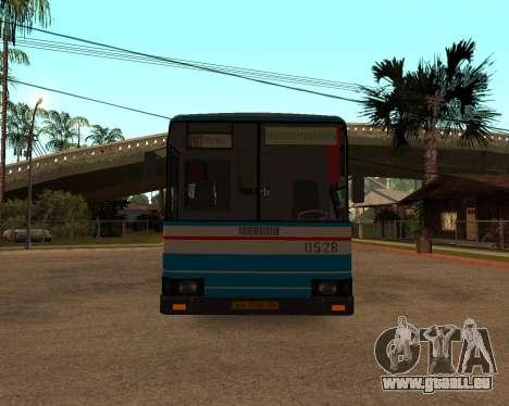 Autosan H10-11B full Orenburg stickers pour GTA San Andreas vue intérieure