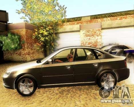 Subaru Legacy 3.0 R tuning für GTA San Andreas linke Ansicht