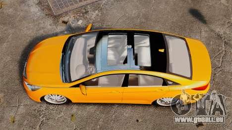 Hyundai Sonata 2011 v2.0 für GTA 4 rechte Ansicht