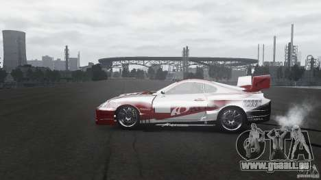 Toyota Supra Apexi Race System für GTA 4 linke Ansicht