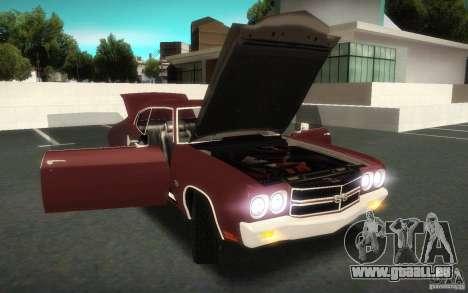 Chevrolet Chevelle SS für GTA San Andreas Seitenansicht