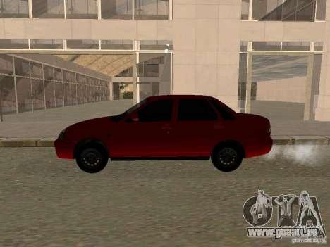 VAZ-2170 pour GTA San Andreas sur la vue arrière gauche