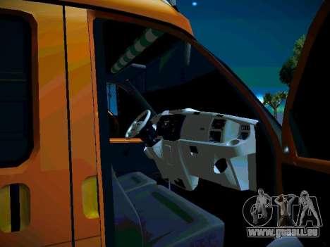 Gazelle 2705 Business für GTA San Andreas Seitenansicht