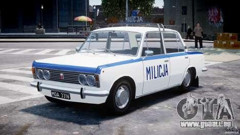 Fiat 125p Polski Milicja für GTA 4