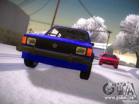 Volkswagen Rabbit GTI für GTA San Andreas Innenansicht