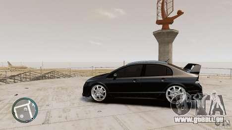 Honda Civic Mugen RR pour GTA 4 est une gauche