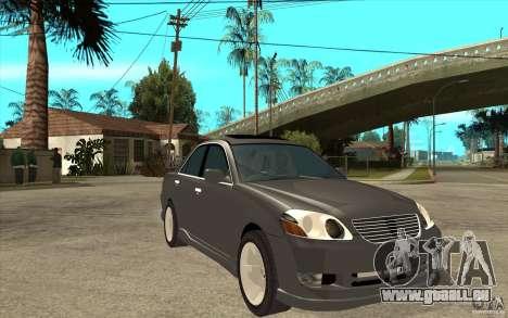 TOYOTA MARK II RY für GTA San Andreas Rückansicht