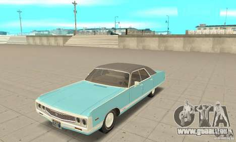 Chrysler New Yorker 4 Door Hardtop 1971 pour GTA San Andreas