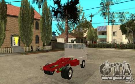 Dac 444 T pour GTA San Andreas vue de droite