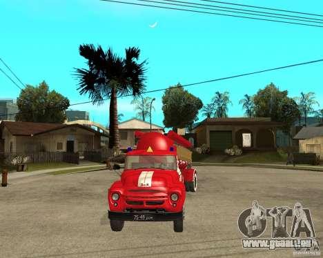 Le camion de pompier de l'AB-6 (130В1) pour GTA San Andreas vue arrière
