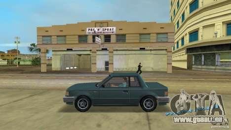 Manana HD pour une vue GTA Vice City de la gauche