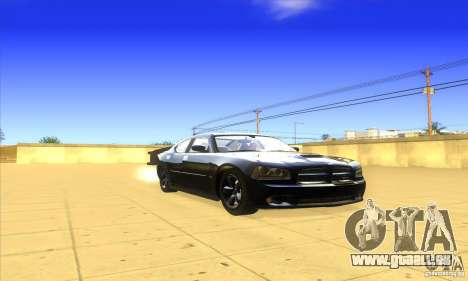 Dodge Charger From Fast Five pour GTA San Andreas