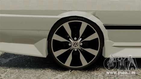 Volkswagen Santana Shanghai Century Rookie pour GTA 4 Vue arrière