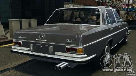 Mercedes-Benz 300Sel 1971 v1.0 pour GTA 4 Vue arrière de la gauche