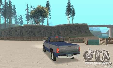 Dodge Ram 2500 1994 pour GTA San Andreas laissé vue