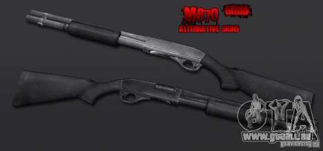 M870 Black für GTA San Andreas zweiten Screenshot