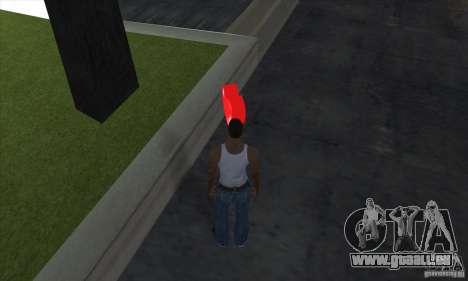 Trousse de premiers soins 1.0 pour GTA San Andreas deuxième écran