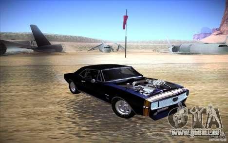 Chevrolet Camaro SS pour GTA San Andreas vue de droite